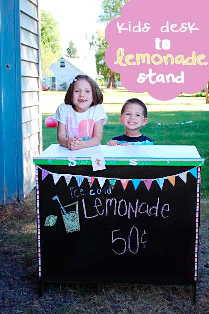 Kids Desk to Lemonade Stand-Making the World Cuter