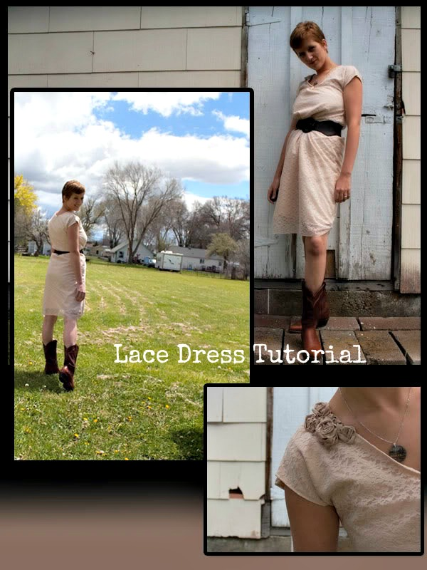 Lace Dress Tutorial
