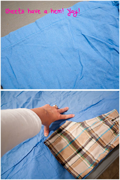 Sheets into Pajama Pants