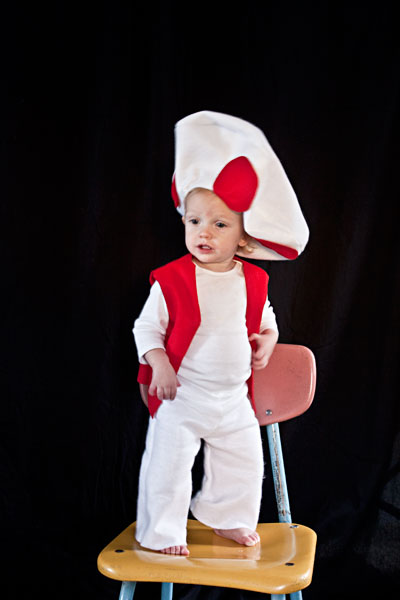 Toad Mario Brothers Halloween Costume