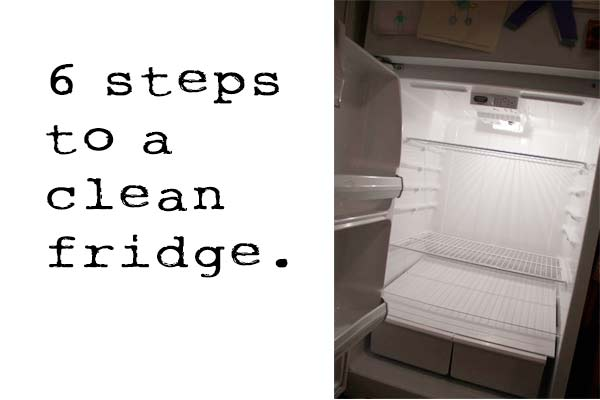 6 Steps to a Clean Refrigerator