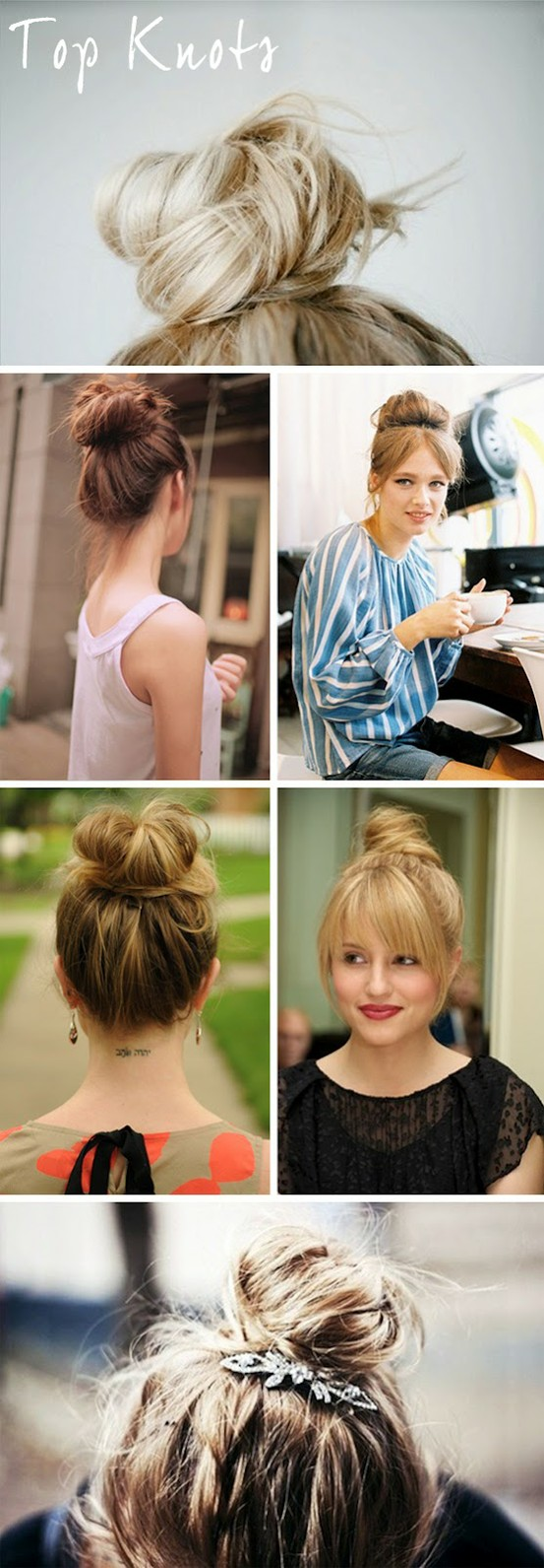 High Ponytail Bun