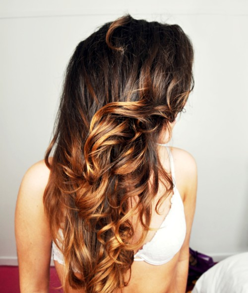 Beautiful Long Wavy Hair