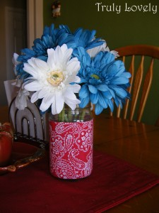 Patriotic Centerpiece Craft