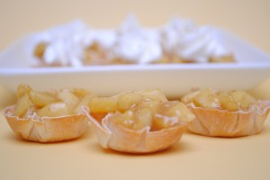 Skinny Mini Apple Tartlets Recipe