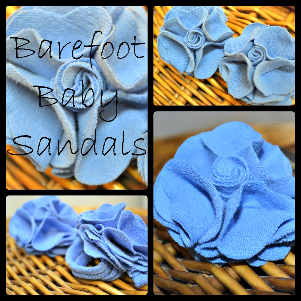 Sew some baby sandals