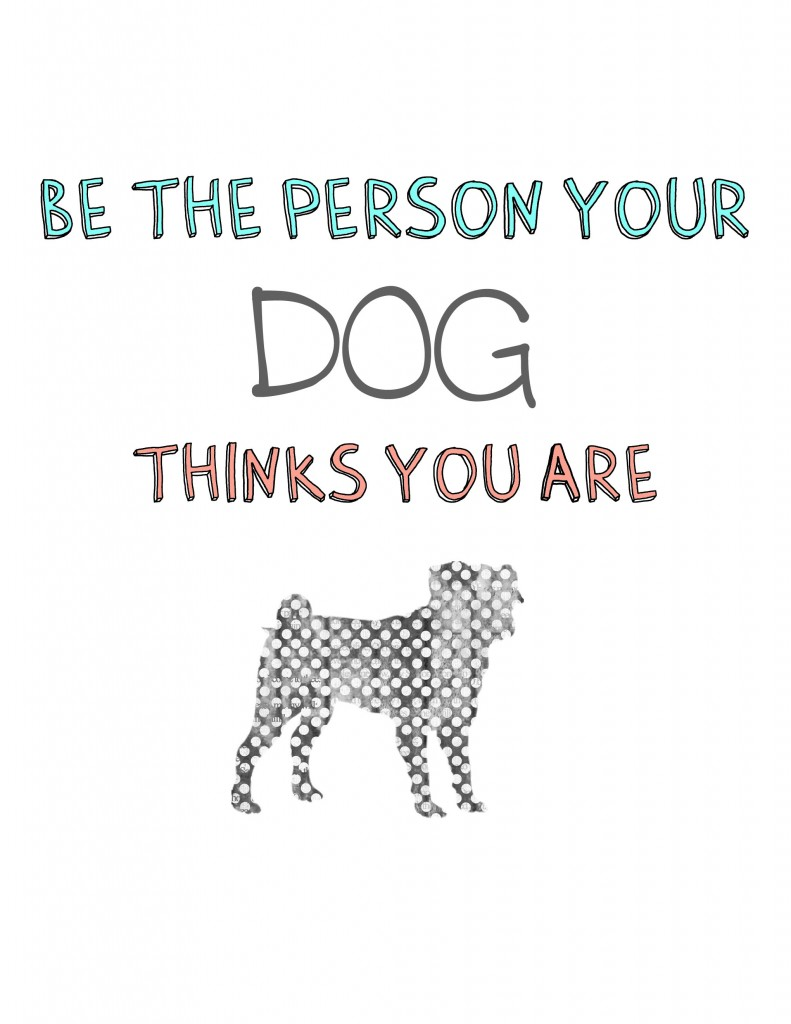 Be the Person Printable