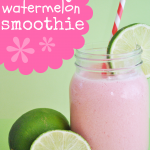 Watermelon Smoothie with Lime