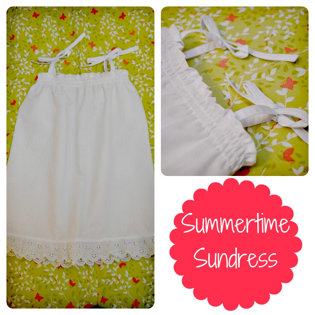 DIY Summertime Sundress