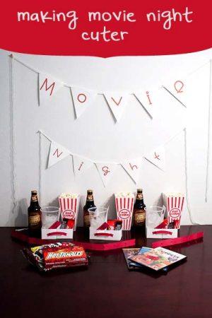 make movie night cuter
