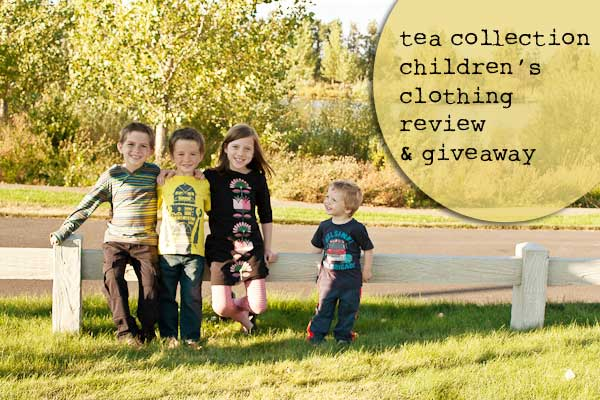 Review and Giveaway for Tea Collection Clothing