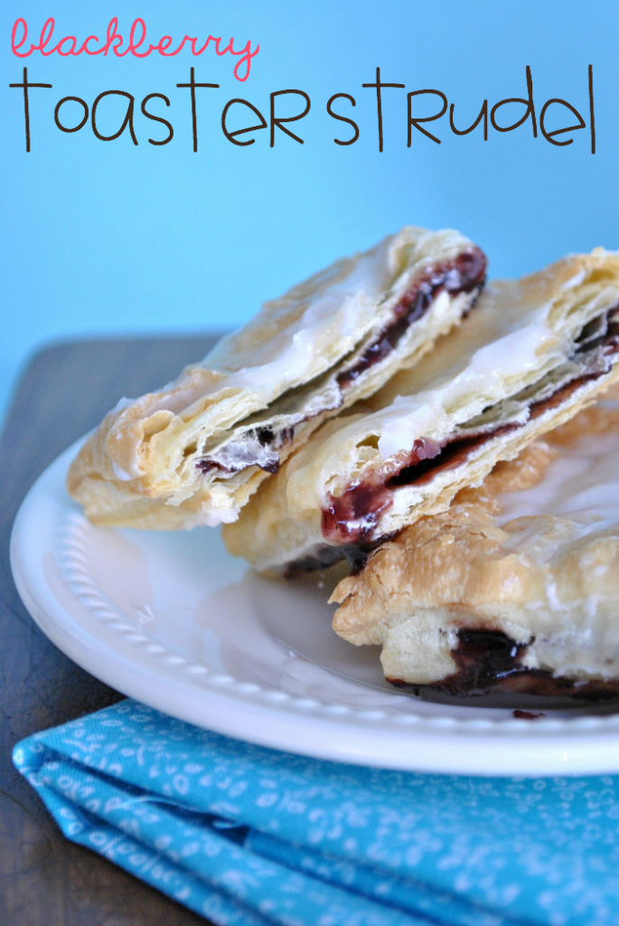 Blackberry Toaster Strudel