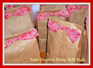 Cute Country Gift Bag