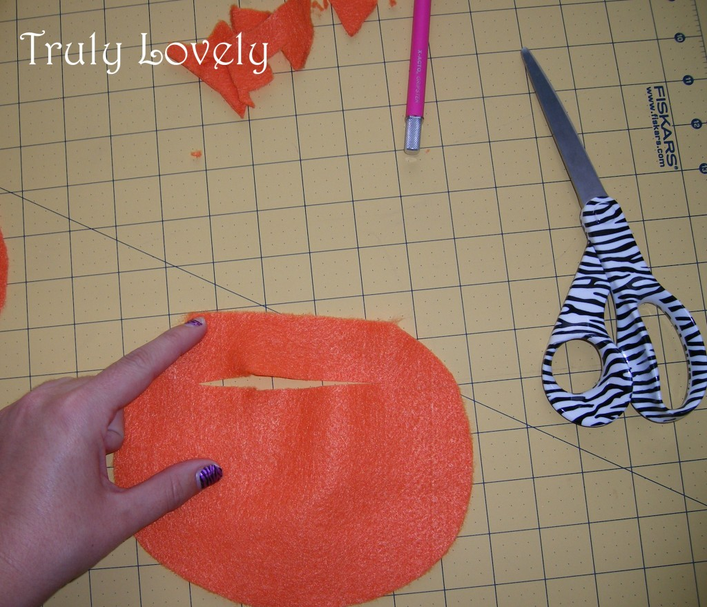 how to make a pumpkin purse