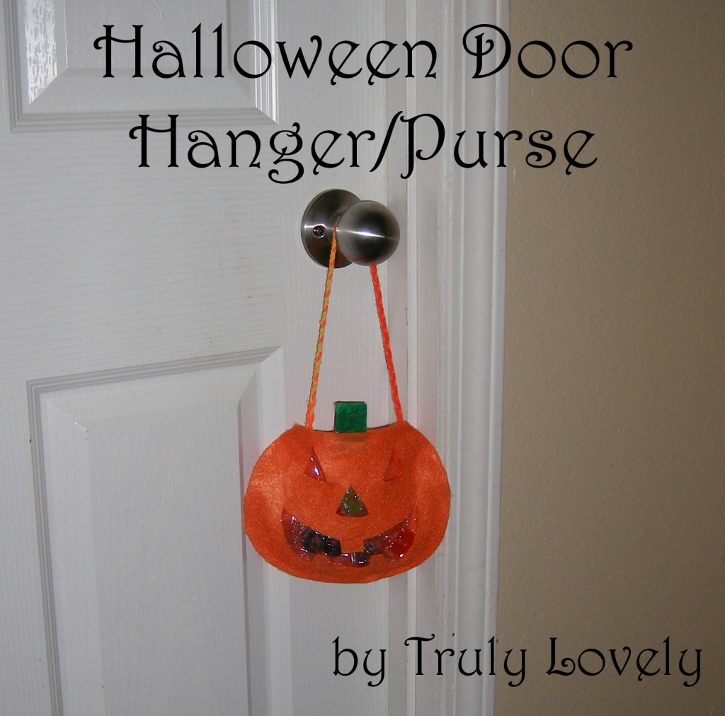 DIY Halloween Door Hanger/Purse