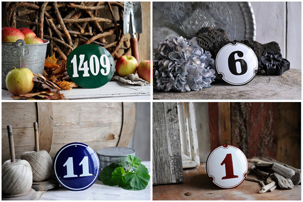 House Numbers from Ramsign