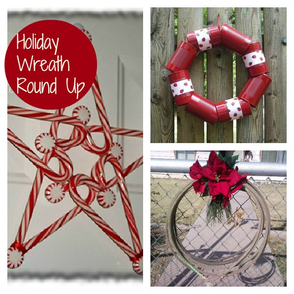 Unique Holiday Wreath Round Up