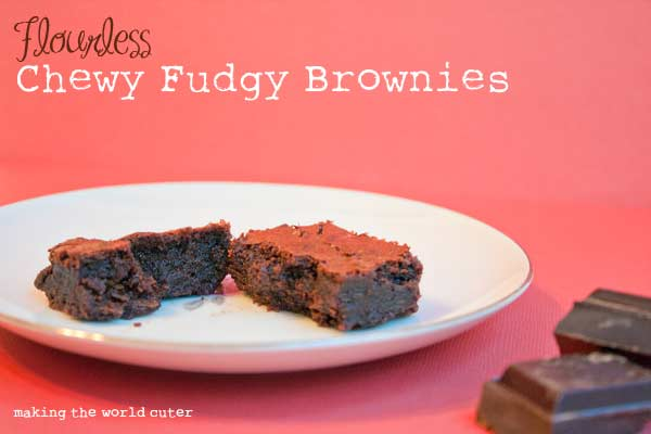 Flourless-Chewy-Fudgy-Brownies