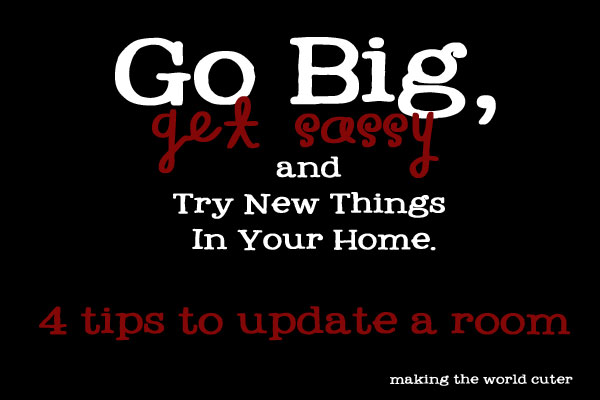 4 tips to Update a Room