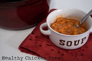 Slow Cooker Healthy Chicken Stew Recipe