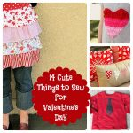 Sewing Valentine's Day Roundup