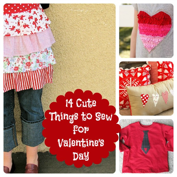 14 Valentine's Day Sewing Crafts for you