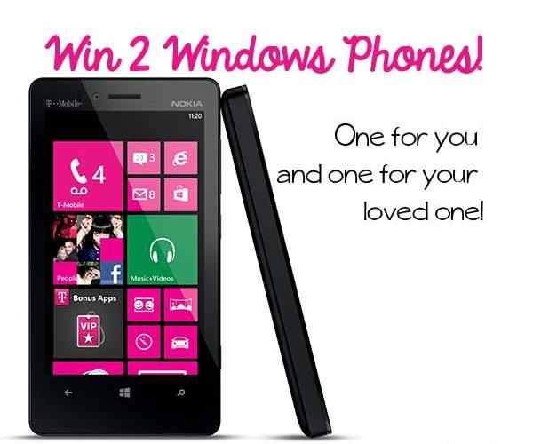 Giveaway! Win TWO new Windows Phones #MeetYours