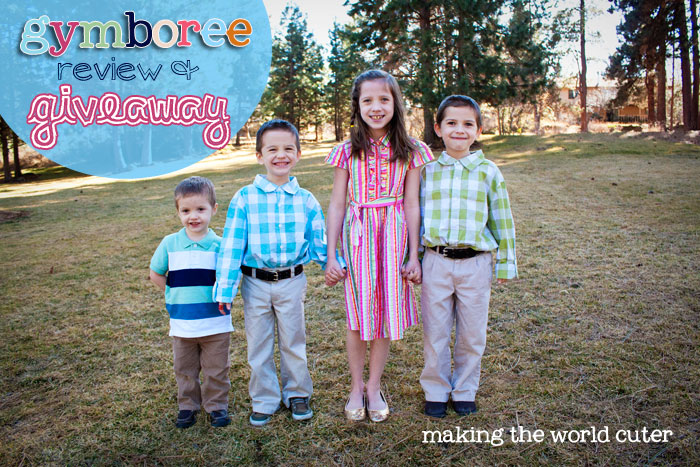 Cute Spring Clothing for Kids | Gymboree Giveaway