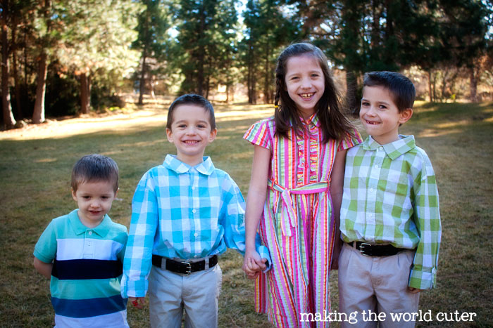 Cute Kids Clothes for Spring