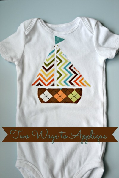 how to applique