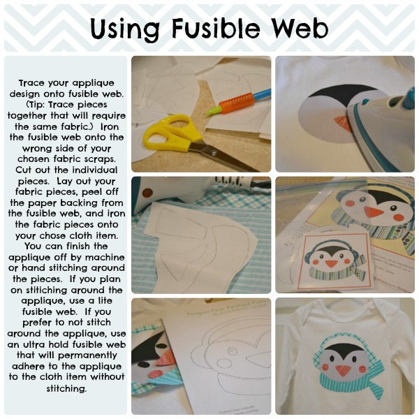 using fusible web