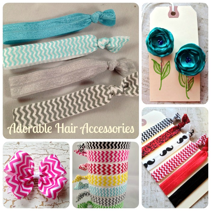 Anthropologie Inspired Hair Accessories