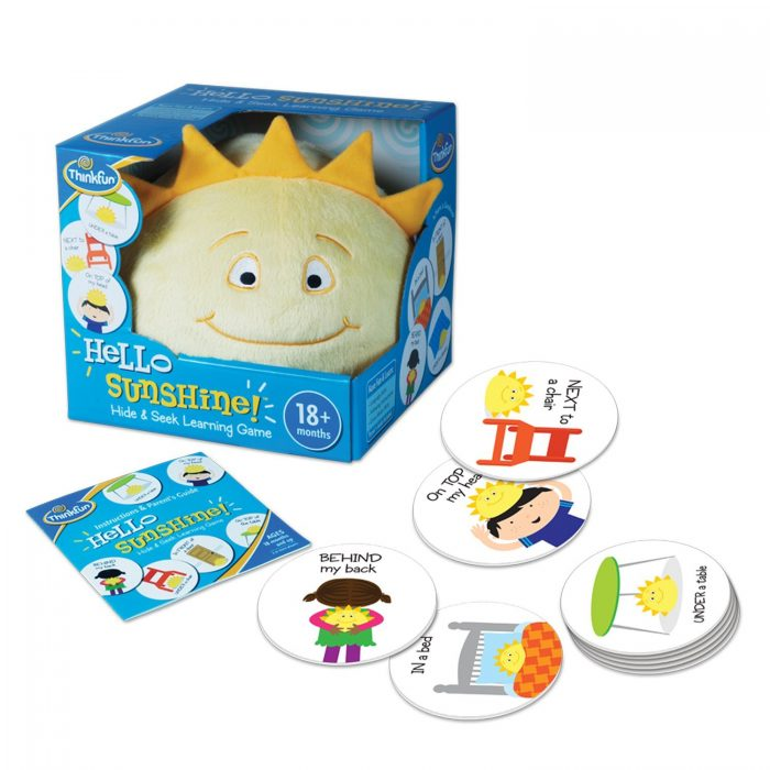 Hello Sunshine Game by ThinkFun for ages 18+months
