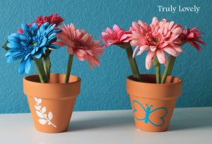 Flower Pens Spring desk decoration