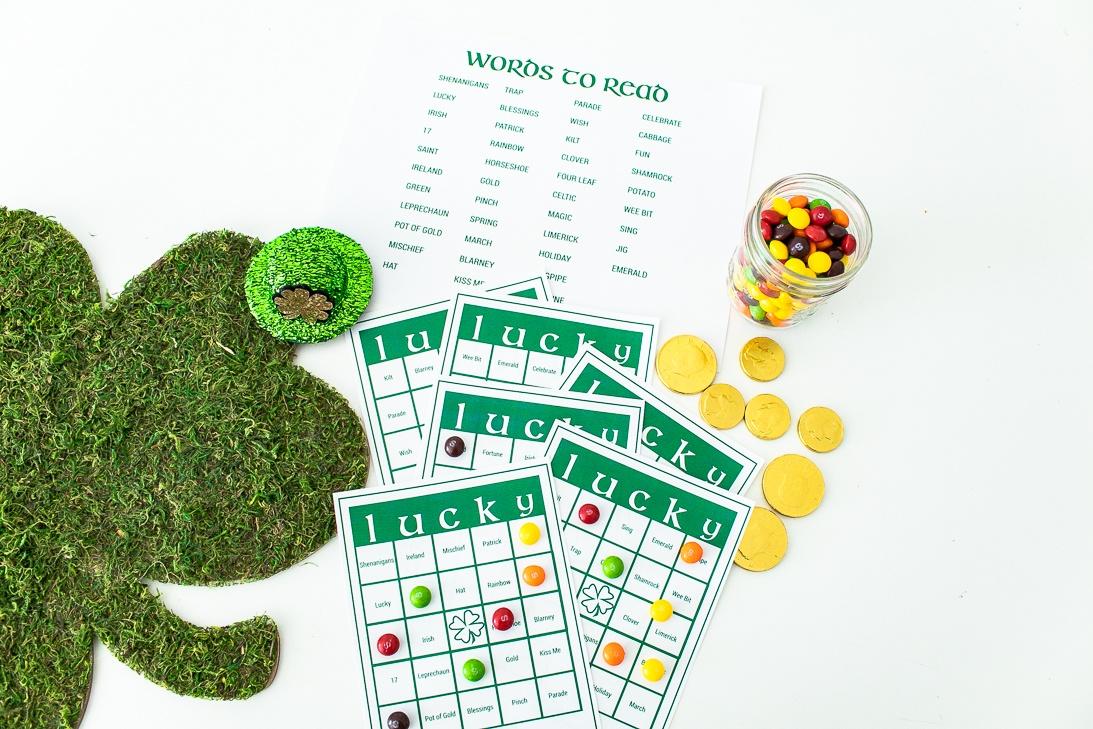 St Patrick's Day Bingo Printable Pack