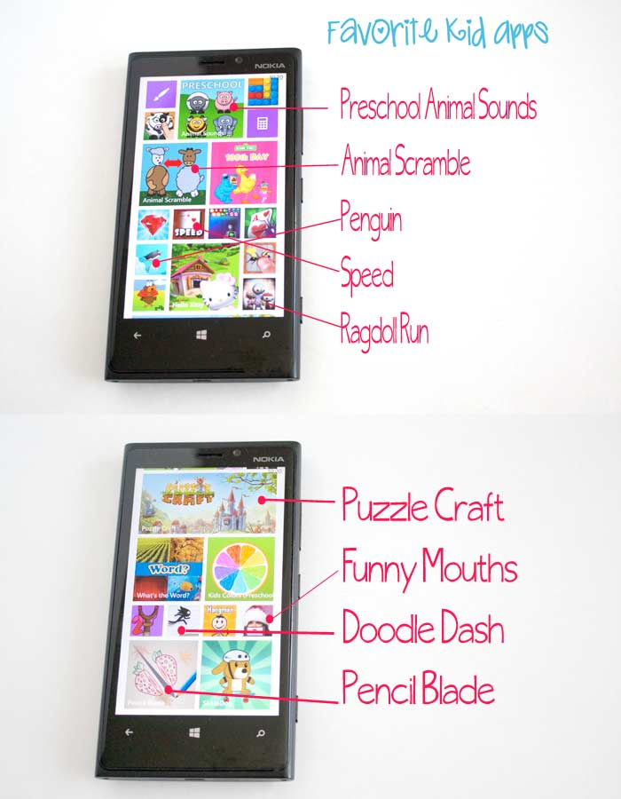 Windows Phone Kids Apps