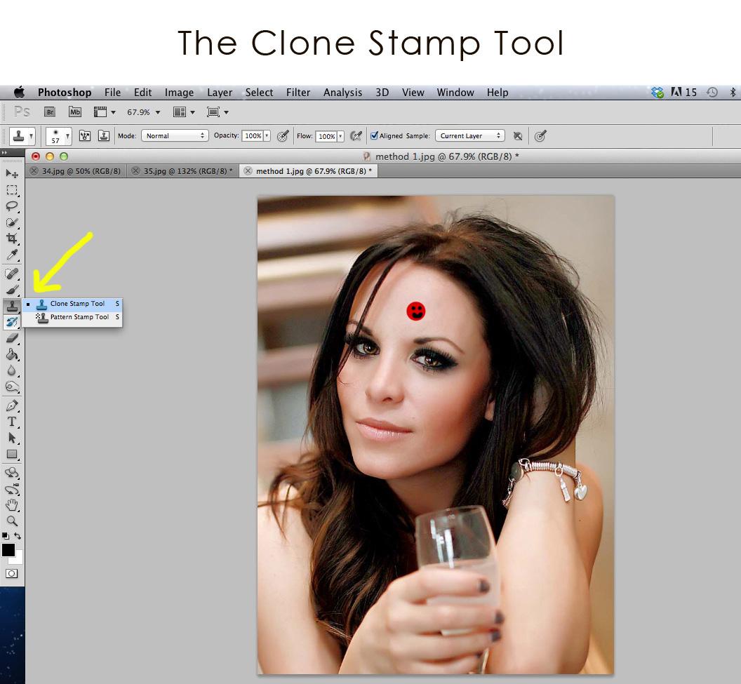 Как сделать клоны в фотошопе