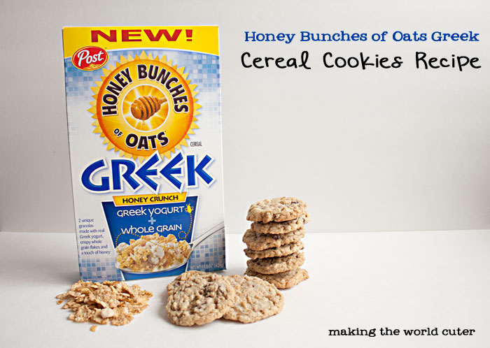 Honey Bunches of Oats Cereal Cookies Recipe
