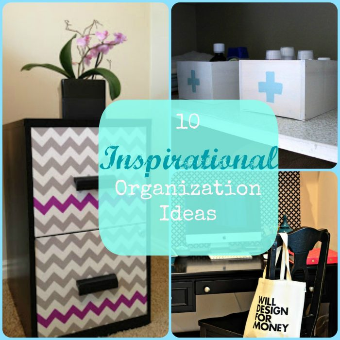 10 Inspirational Organization Ideas | Making the World Cuter Monday