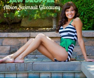Jaw Dropper Albion Swimsuit Giveaway at Making the World Cuter
