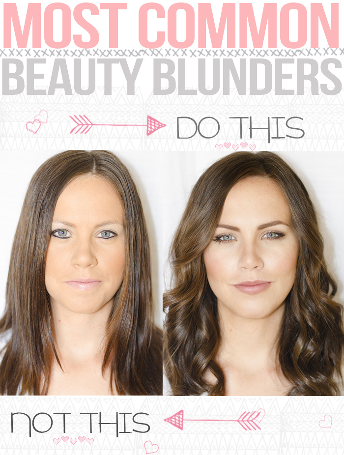 Most common beauty blunders by MaskCara