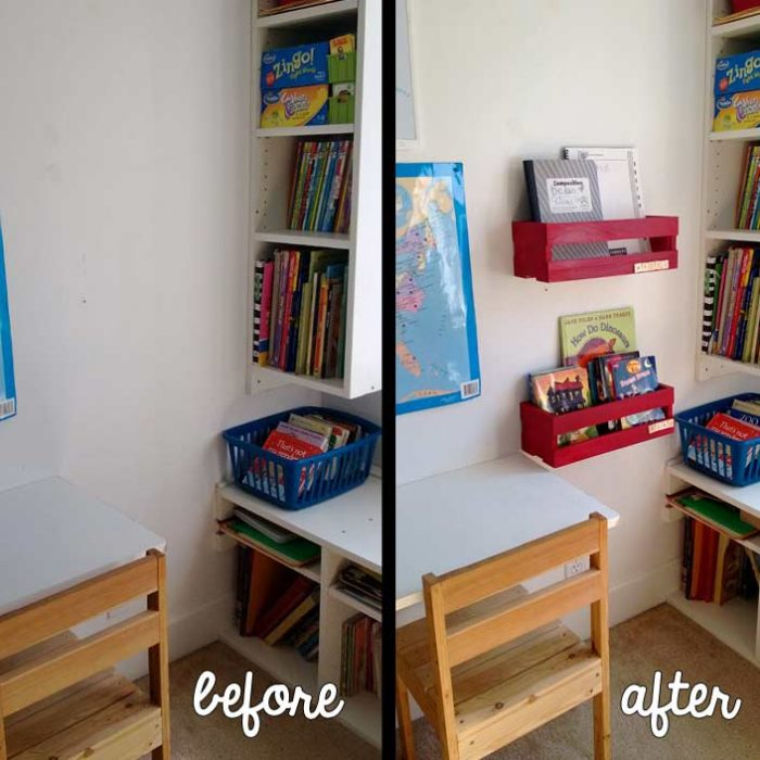 School Room Book Shelves
