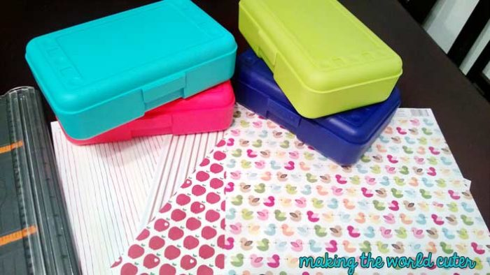 DIY Pencil Boxes Making the World Cuter
