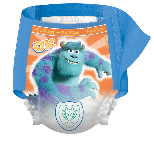 Monster's U PullUps How we make potty training fun, Making the World Cuter
