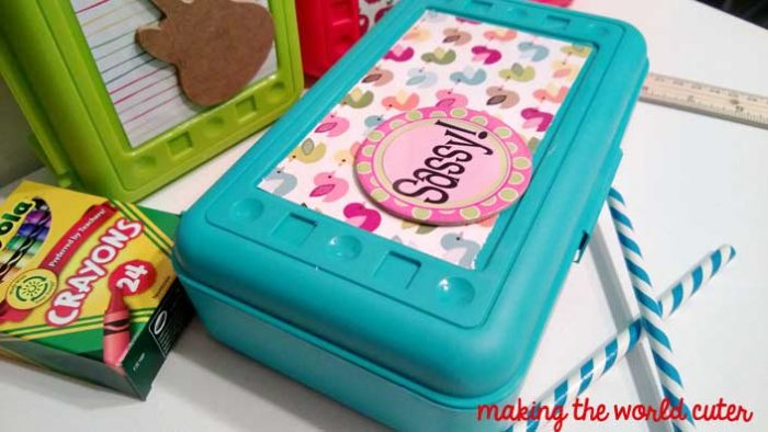 Back to School DIY Pencil Boxes Making the World Cuter