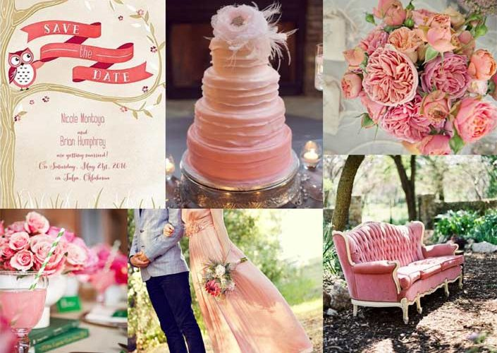Pink Wedding: Inspiration from This Season's Wedding Color