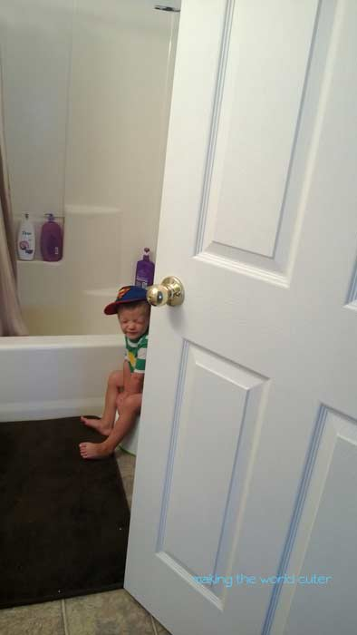 Potty Break. How we make potty training fun, Making the World Cuter