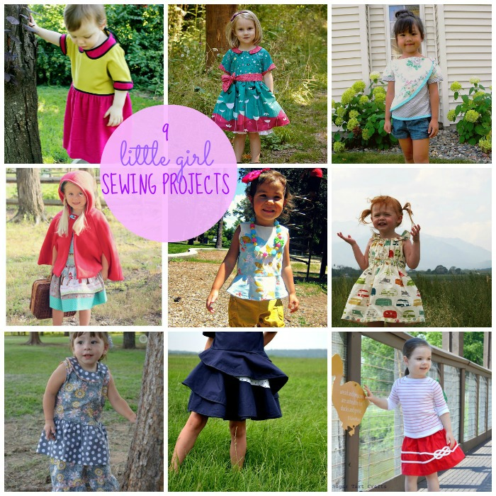 9 adorable sewing projects for little girls