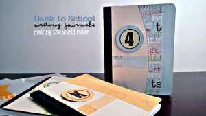 Back to School Writing Journals from Making the World Cuter