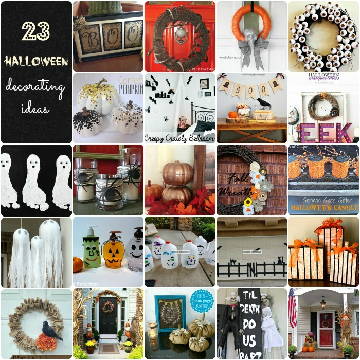 23 Halloween Decorating Ideas